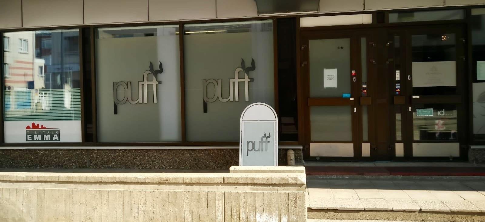 Oulun keskustan Puff-myymälä muuttaa