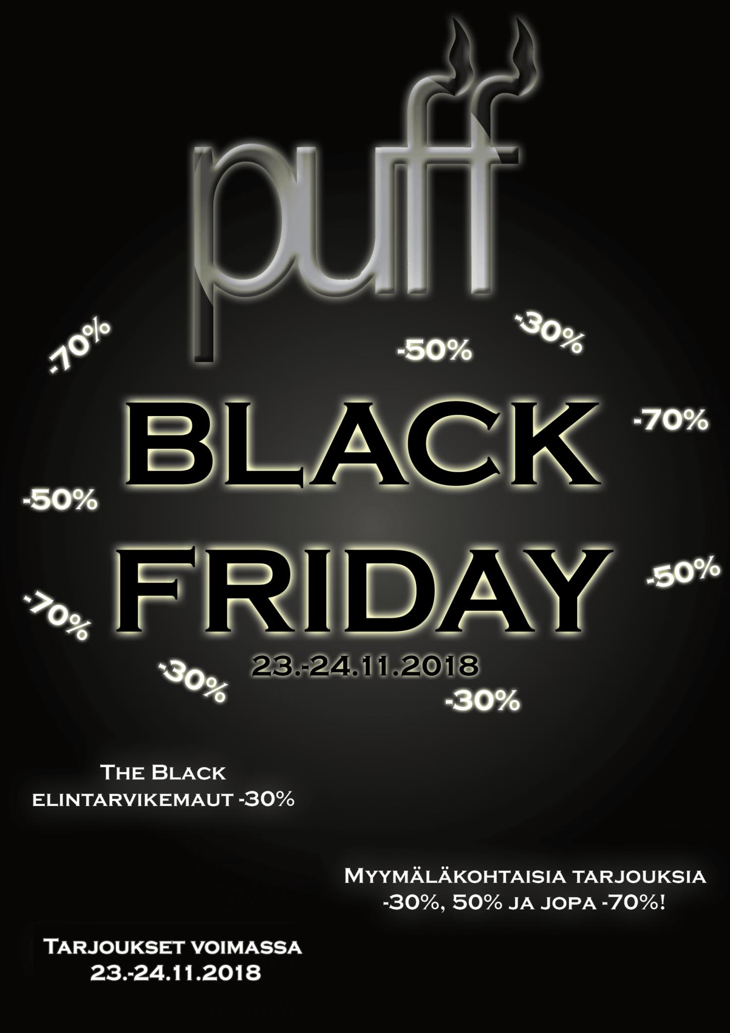 Puffin Black Friday on täällä!