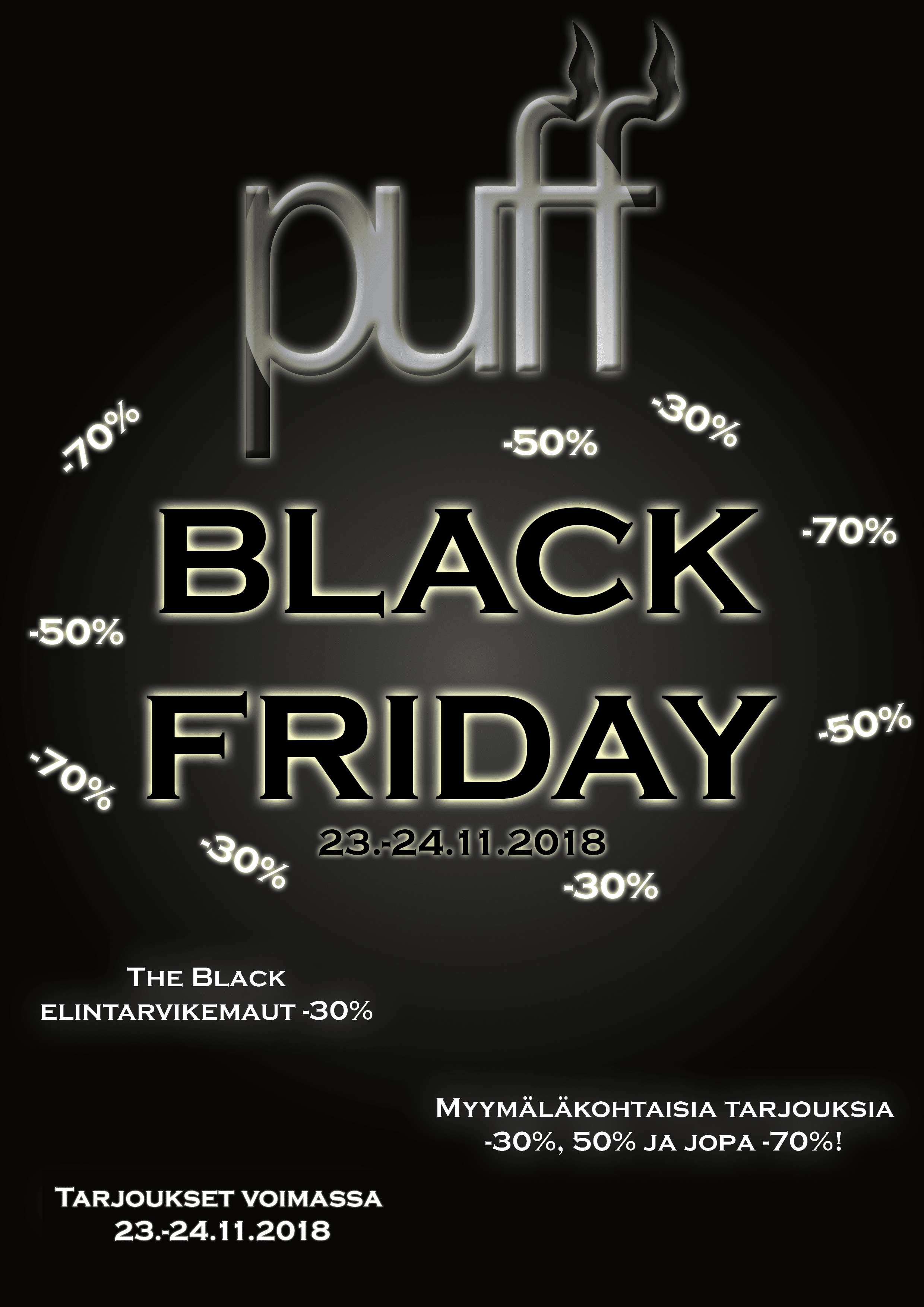Puffin Black Friday on täällä!