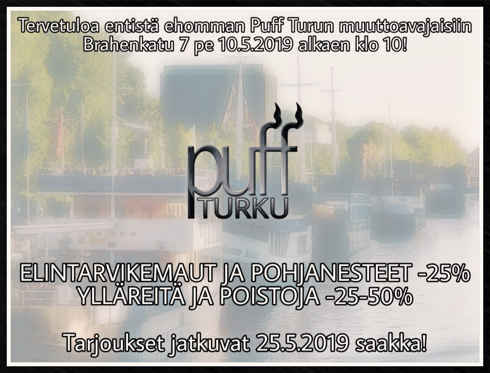 Puff Turun muuttoavajaiset 10.5.2019
