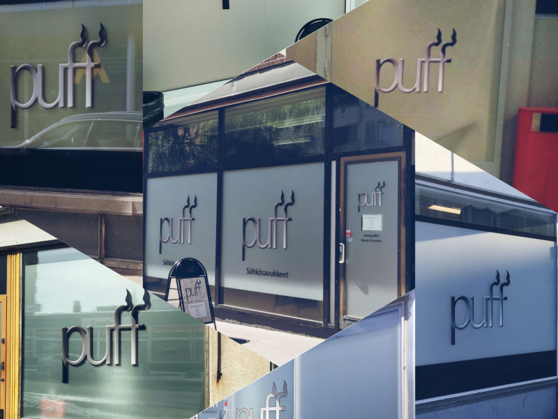 Kauppa nimeltä Puff